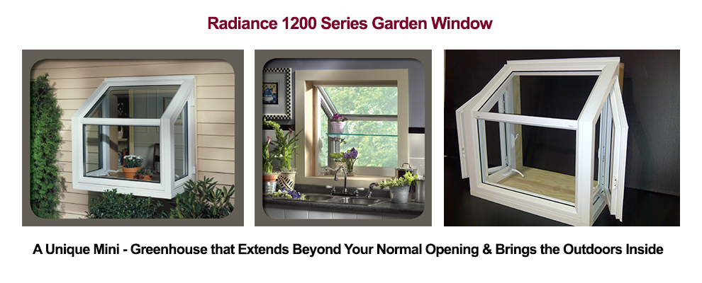 Millcraft Radiance 1200 Series Garden Window