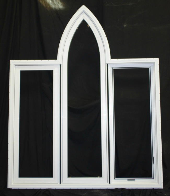 3-Lite Gothic Window