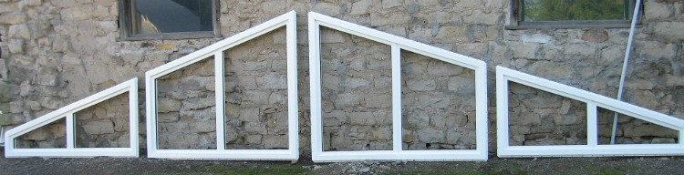8-Lite Trapezoid Window