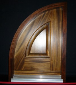 Arched Entry Door Sample