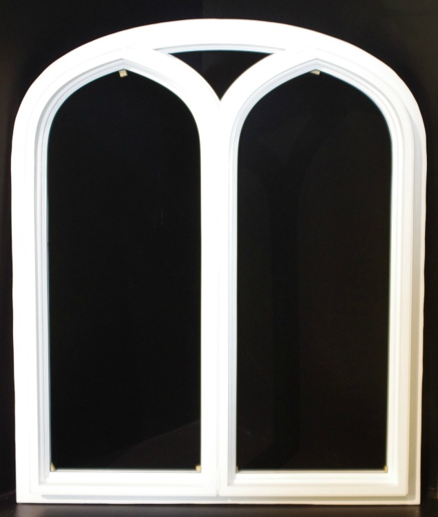 Twin Gothic Window
