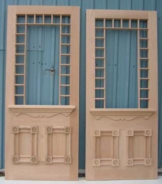 Historical Wooden Double Doors