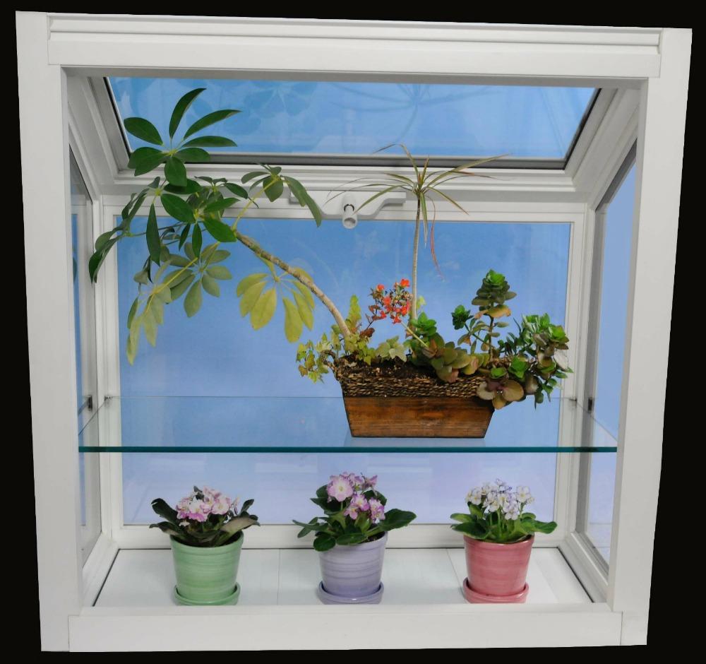 Millcraft Radiance 1000 Garden Window with Glass Shelf