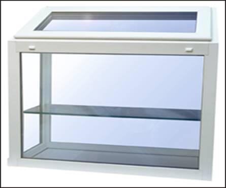 Millcraft Radiance 1000 Series Garden Window Top Vent