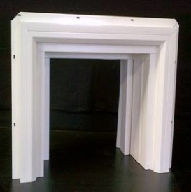 Millcraft Square Vinyl Garage Door Frame