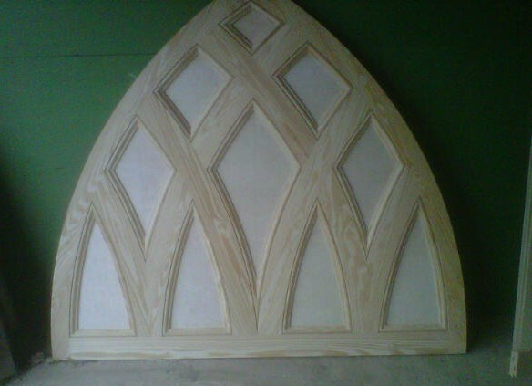 Wood Gothic SDL Panel