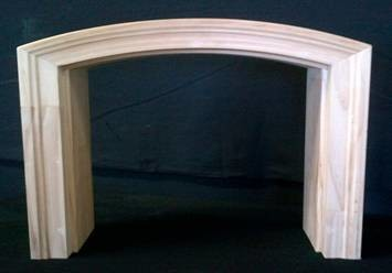 Millcraft Arched Wood Garage Door Frame